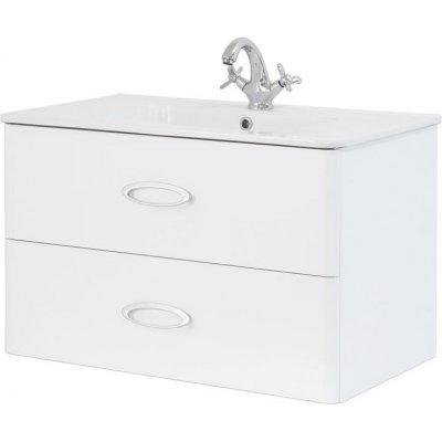 Тумба с раковиной для ванной Pragmatika Quadro Ring QR-2 80