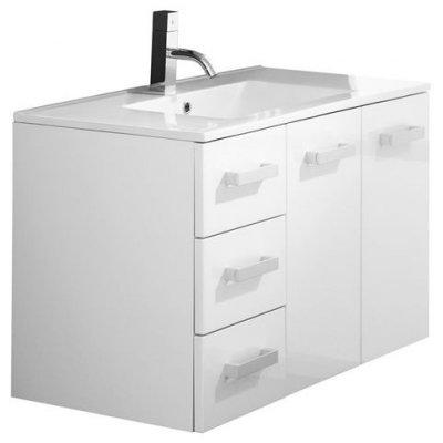 Тумба с раковиной для ванной Pragmatika Quadro Ultra QU-06 90