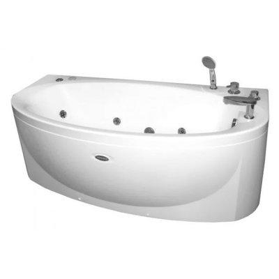 Акриловая ванна Радомир Амелия chrome (1600Х1050)
