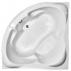 Акриловая ванна Радомир Флоренция chrome (1480Х1480)-3