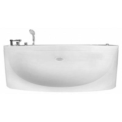Акриловая ванна Радомир Неаполи chrome (1800Х850)