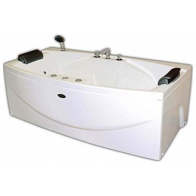 Акриловая ванна Радомир Сиэтл chrome (1900Х100)