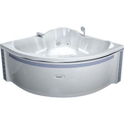 Акриловая ванна Радомир Сорренто chrome (1480Х1480)
