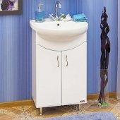 Тумба с раковиной для ванной Sanflor Илона 55