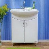 Тумба с раковиной для ванной Sanflor Илона 65