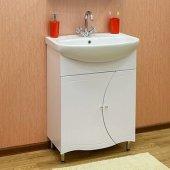 Тумба с раковиной для ванной Sanflor Муза 65