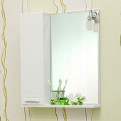 Зеркало-шкаф для ванной Sanflor Ода 60