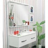 Комплект мебели для ванной Sanflor Рио 120 подвесной