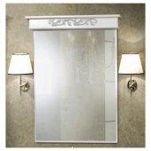 Зеркало для ванной Vicenza Камелия 70 Патина серебро