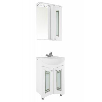 Комплект мебели Vod-ok Адам 55 (фасад стекло)