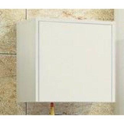 Шкаф для ванной подвесной Акватон Фабиа белый/выбеленное дерево