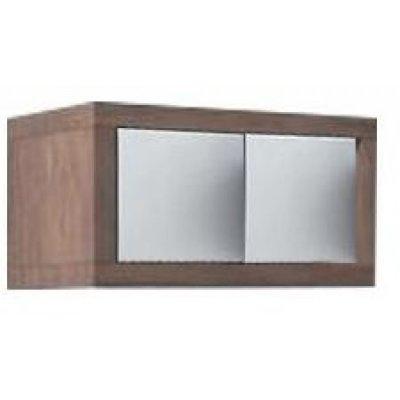 Шкаф для ванной Акватон Интегро 40 орех шпон/ящики