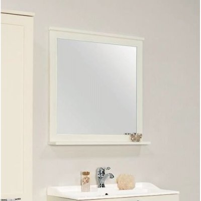 Зеркало для ванной Акватон Леон 80 дуб белый