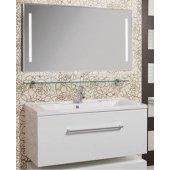 Комплект мебели для ванной Акватон Мадрид 120 белый с ящиком