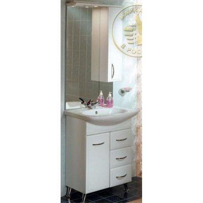 Комплект мебели для ванной Акватон Марсия 67 с бельевой корзиной