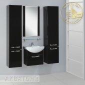 Комплект мебели для ванной Акватон Ария 50 черный