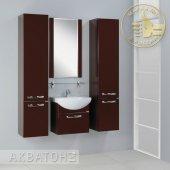 Комплект мебели для ванной Акватон Ария 50 темно-коричневый