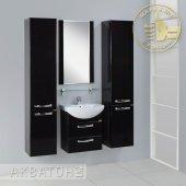 Комплект мебели для ванной Акватон Ария 50 М черный