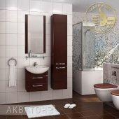 Комплект мебели для ванной Акватон Ария 50 М темно-коричневый