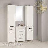 Комплект мебели для ванной Акватон Ария 50 Н белый