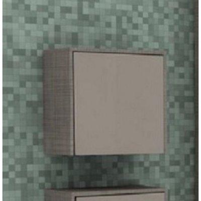 Шкаф для ванной подвесной Акватон Фабиа латте