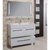 Комплект мебели для ванной Акватон Мадрид 120 белый с 2 ящиками