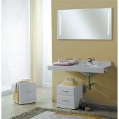 Комплект мебели для ванной Акватон Отель 120 правый