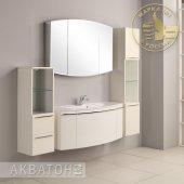 Комплект мебели для ванной Акватон Севилья 120 подвесной белый жемчуг
