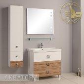 Комплект мебели для ванной Акватон Стамбул 85 М