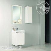 Комплект мебели для ванной Акватон Йорк 50 белый/выбеленное дерево