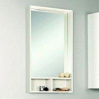 Зеркало для ванной Акватон Йорк 50 белый/выбеленное дерево