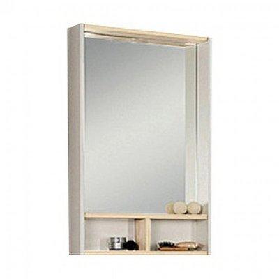 Зеркало для ванной Акватон Йорк 55 белый/ясень фабрик