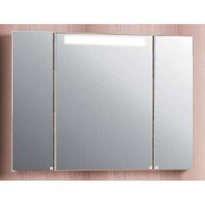 Зеркальный шкаф для ванной Акватон Мадрид 120