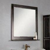 Зеркало для ванной Акватон Жерона 85 черное серебро