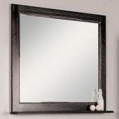 Зеркало для ванной Акватон Жерона 105 черное серебро