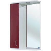 Зеркало-шкаф для ванной Bellezza Астра 50 бордо