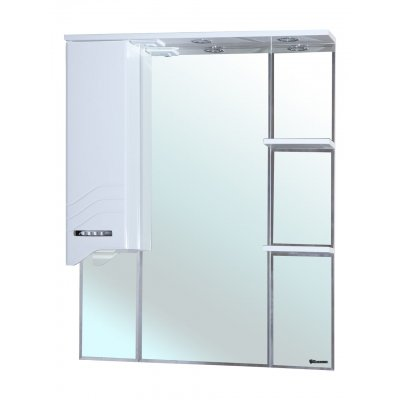 Зеркало-шкаф для ванной Bellezza Дрея 85