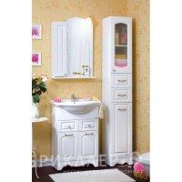 Комплект мебели для ванной Бриклаер Анна 60