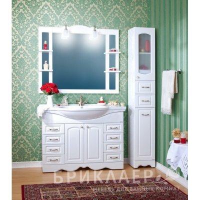 Комплект мебели для ванной Бриклаер Анна 120