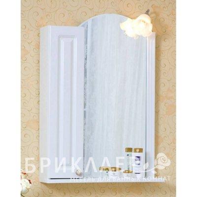 Зеркало-шкаф для ванной Бриклаер Анна 60