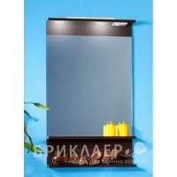 Зеркало для ванной Бриклаер Чили 55