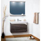 Комплект мебели для ванной Бриклаер Севилья 90