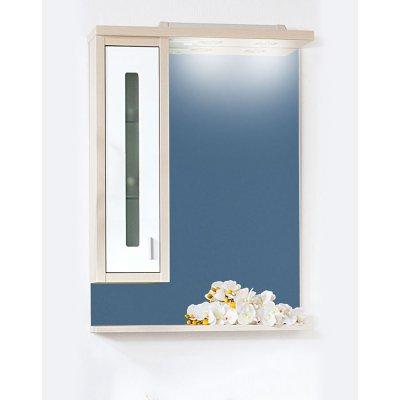 Зеркало-шкаф Бриклаер Бали 62 Светлая лиственница