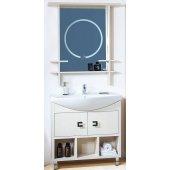 Комплект мебели для ванной Бриклаер Хоккайдо 85