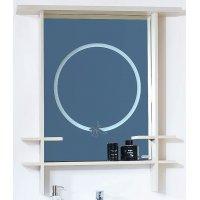 Зеркало Бриклаер Хоккайдо 90 с полочками