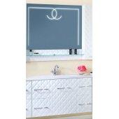 Комплект мебели для ванной Бриклаер Жаклин 110