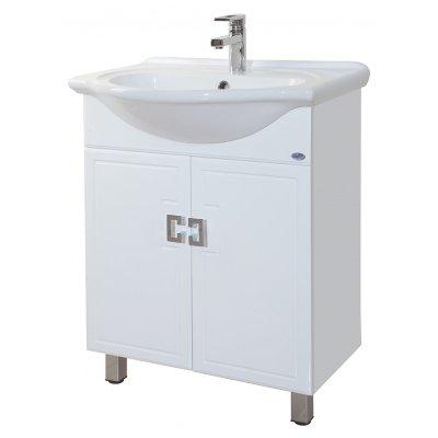 Тумба с раковиной для ванной Bellezza Миа 65 прямая