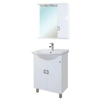 Комплект мебели для ванной Bellezza Миа 60 прямая