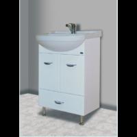 Тумба с раковиной для ванной Bellezza Классик 55 с нижним ящиком