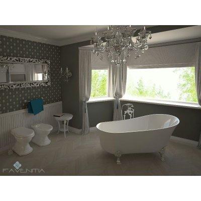 Отдельностоящая Акриловая ванна Favenitia Sophia
